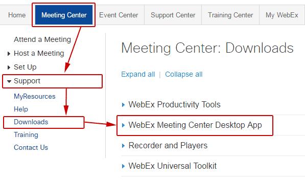 Webex Cisco Mac
