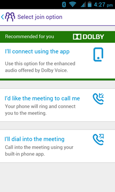 BT MeetMe with Dolby Voice User Guide